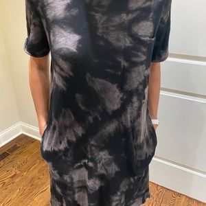 ATM tie dye t-shirt dress